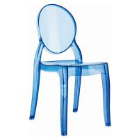 Baby Elizabeth Kids Chair Transparent Blue