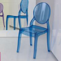 Baby Elizabeth Kids Chair Transparent Blue ISP051-TBLU - 5