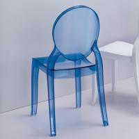 Baby Elizabeth Kids Chair Transparent Blue ISP051-TBLU - 6