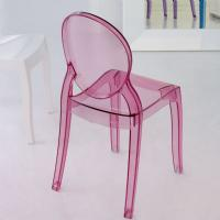 Baby Elizabeth Kids Chair Transparent Pink ISP051-TPNK - 5