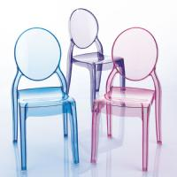 Baby Elizabeth Kids Chair Transparent Blue ISP051-TBLU - 14