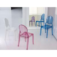 Baby Elizabeth Kids Chair Transparent Blue ISP051-TBLU - 17