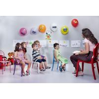Baby Elizabeth Kids Chair Transparent Violet ISP051-TVIO - 13