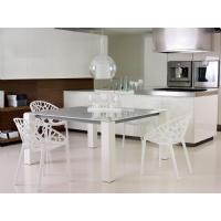 Crystal Polycarbonate Modern Dining Chair Transparent ISP052-TCL - 6