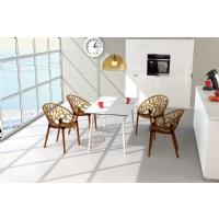 Crystal Polycarbonate Modern Dining Chair Transparent ISP052-TCL - 11