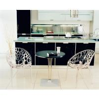 Crystal Polycarbonate Modern Dining Chair Transparent ISP052-TCL - 14
