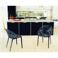 Crystal Polycarbonate Modern Dining Chair Transparent ISP052-TCL - 15