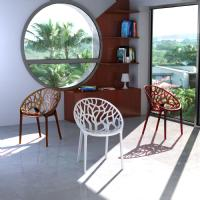 Crystal Polycarbonate Modern Dining Chair Transparent ISP052-TCL - 20