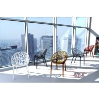 Crystal Polycarbonate Modern Dining Chair Transparent ISP052-TCL - 21