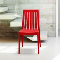 Soho High-Back Dining Chair Red ISP054-RED - 5