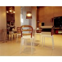 Miss Bibi Dining Chair White Red ISP055-WHI-TRED - 9