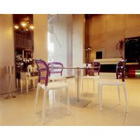 Miss Bibi Dining Chair White Red ISP055-WHI-TRED - 14