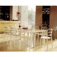 Miss Bibi Dining Chair White Red ISP055-WHI-TRED - 15