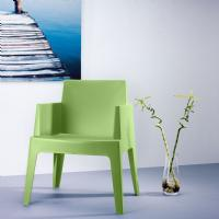 Box Outdoor Dining Chair Tropical Green ISP058-TRG - 4