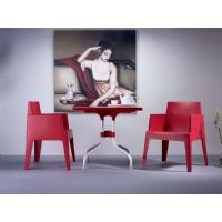 Box Outdoor Dining Chair Red ISP058-RED - 13