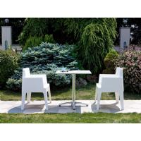 Box Outdoor Dining Chair Tropical Green ISP058-TRG - 19