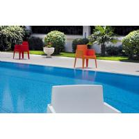 Box Outdoor Dining Chair Red ISP058-RED - 32