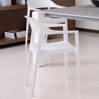 Carmen Chair Glossy/White ISP059-WHI-GWHI - 5