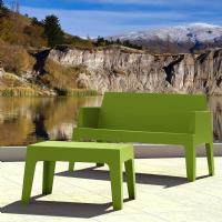Box Resin Outdoor Coffee Table Tropical Green ISP064-TRG - 3