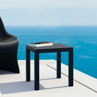 Ocean Square Side Table Black ISP066-BLA - 2