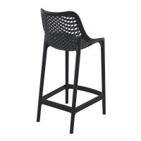 Air Resin Outdoor Counter Chair Black ISP067-BLA - 1