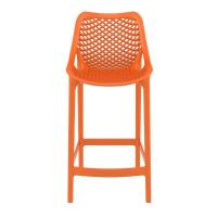 Air Resin Outdoor Counter Chair Orange ISP067-ORA - 2