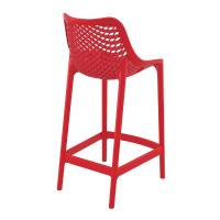 Air Resin Outdoor Counter Chair Red ISP067-RED - 1