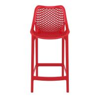 Air Resin Outdoor Counter Chair Red ISP067-RED - 2