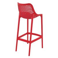 Air Resin Outdoor Bar Chair Red ISP068-RED - 1