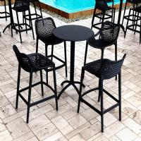 Air Resin Outdoor Bar Chair Dark Gray ISP068-DGR - 6