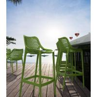 Air Resin Outdoor Bar Chair Tropical Green ISP068-TRG - 11