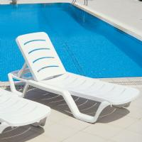 Bahama Sunlight Pool Chaise Lounge ISP077-WHI - 1