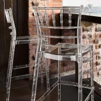 Chiavari Polycarbonate Barstool Transparent Clear ISP083-TCL - 5