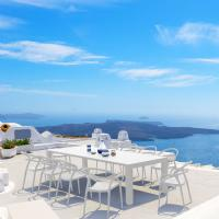 Mila Extendable Outdoor Dining Set 11 piece White ISP0851S-WHI