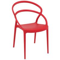 Pia Dining Chair Red ISP086-RED