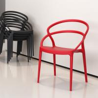 Pia Dining Chair Red ISP086-RED - 5