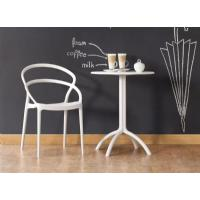 Pia Dining Chair White ISP086-WHI - 5