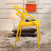 Pia Dining Chair Yellow ISP086-YEL - 6
