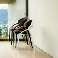 Sunset Dining Chair Black ISP088-BLA - 8