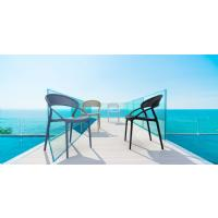 Sunset Dining Chair Black ISP088-BLA - 14