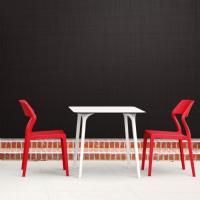 Snow Dining Chair Red ISP092-RED - 7