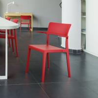 Plus Arm Chair Red ISP093-RED - 5