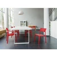 Plus Arm Chair Red ISP093-RED - 11