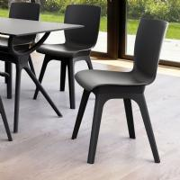 Mio PP Dining Chair Black ISP094-BLA-BLA - 5