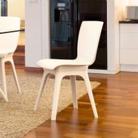 Mio PP Dining Chair White ISP094-WHI-WHI - 5
