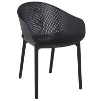 Sky Outdoor-Indoor Armchair Black