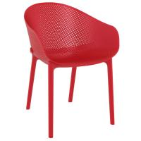 Sky Outdoor-Indoor Armchair Red ISP102-RED