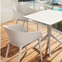 Sky Outdoor Bistro Set 3 Piece Taupe ISP1021S-DVR - 8