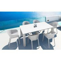 Sky Extendable Dining Set 7 Piece Black ISP1022S-BLA - 6