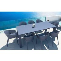 Sky Extendable Dining Set 9 Piece Black ISP1023S-BLA - 4